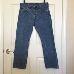 Levi's 501 high waisted jeans